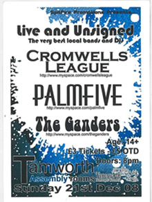 cromwell's league flyer