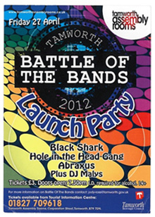 battle of the bands flyer